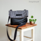 Preview: Schnittmuster Foldoverbag Freya